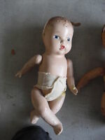 Vintage Composition Character Baby Doll LOOK