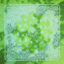 Bufandas de hombre verdes de 100% algodón