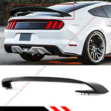 For 2015-2017 Ford Mustang GT S550 GT350 Style ABS Matt Black Trunk Spoiler Wing