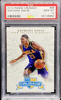 Anthony Davis 2012-13 Panini Crusade ROOKIE RC #88 Lakers GEM MINT PSA 10