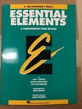 Essential Elements, Eb Alto Saxophone, Book 2