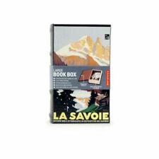 "Kikkerland Large Book Box ""La Savoie"" Mini Storage Home Home Gift Idea Fun BNWT"