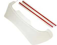 Go Kart Rear Spoiler for Arai SK-6 / GP-6 / CK-6 White w/ Tape Painters Edition