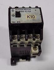 KLOCKNER-MOELLER 115V 60Hz CONTACTOR DIL08M-10-NA