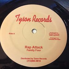 "Family Four: Rap Attack 12"" - Tyson"