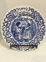 Merry Christmas A Happy Holiday To You Royal Crownford Staffordshire 1995 Plate