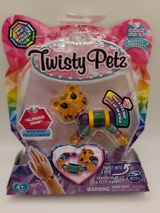 Twisty Petz BLINGRID TIGER Bracelet Pet Mood Beads Series 5 New.  SHIPS FREE