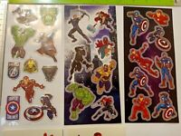 Stickers - Licensed Official - Marvel Avengers & Iron Man