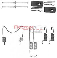 Zubehörsatz, Feststellbremsbacken für Bremsanlage Hinterachse METZGER 105-0898