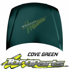 BONNET COVER GREEN SUIT HOLDEN COMMODORE VY 02-04 HOOD ALL EXEC SS HSV CALAIS
