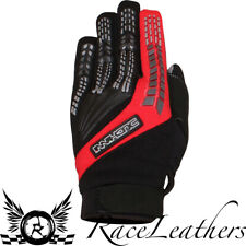 Duchinni Focus Negro Rojo Motocross MX Moto de Cross Guantes para Motocicleta