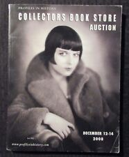 2008 Profiles in History COLLECTORS BOOK STORE Auction Catalog FN+ 6.5 384pgs
