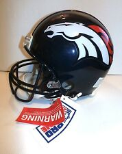 Denver Broncos Riddell Full Size Authentic Proline Football Helmet