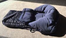 Warmer Wintersack für den Schlitten