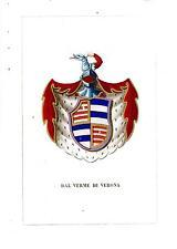 Araldica stemma araldico della famiglia Dal Verme di Verona
