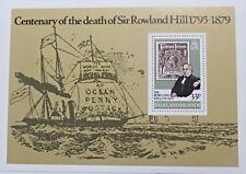 Centenary of the death of Sir Rowland Hill stamp sheet, Falkland Islands, MNH