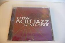 TOTAL ACID JAZZ & NU-SOUL CD TOLEDO GREYBOY NEOMYTHIC PUCHO & THE LATIN SOUL...