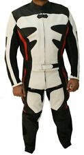 2pc Motorbike, Motorcycle Riding Racing Leather Track Suit