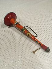 Vintage T. Cohn Inc Tin Toy Horn New Years Eve Noise Maker