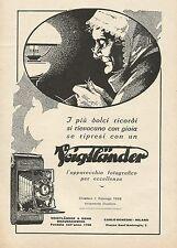 Y1000 Voightlander - I più dolci ricordi si... - Pubblicità 1928 - Advertising