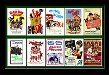 SIT COM FILMS - GEORGE & MILDRED, ON THE BUSES ETC FILM POSTERS POSTCARD SET # 1
