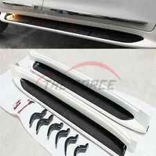 Side Step Running Boards Nerf Bars W/ Lights For 08-18 Toyota Land Cruiser LC200
