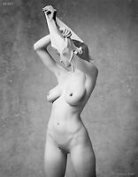 Natalie 81108.07 Black & White Nude Art, signed 8.5x11 photo by Craig Morey