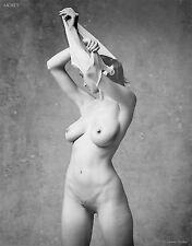 Black & White Nude Art, signed 8.5x11 photo by Craig Morey: Natalie 81108.07