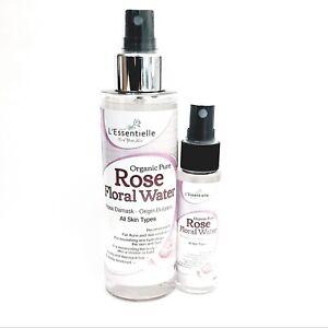 Organic Pure Rose Water DUO 30ml & 150ml