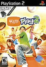 EyeToy Play 2 WITH CAMERA NEW factory sealed Playstation 2 PS2