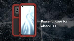 LOVE MEI Heavy Duty Metal Silicone Hybrid Case Cover f Xiaomi Mi 11/ 10/ 10 Pro