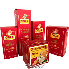 Cella Milano ® 5 pcs Kit Value Pack Shaving System Balm Gel Lotion Cream Almond