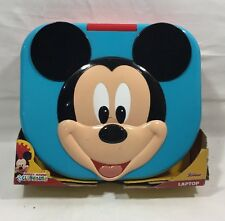 DISNEY MICKEY MOUSE CLUBHOUSE,BABY & TODDLERS LAPTOP JUNIOR,LIGHTS,SOUNDS,NEW W1