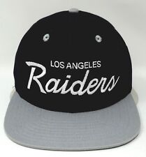 c3e0fd35c0f Reebok Los Angeles La Raiders Snapback Hat NZ 852 Vintage Collection OSFA