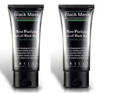 SHILLS Acne Purifying Blackhead Remover Peel-Off Black Charcoal Mask 50ml 2 PACK