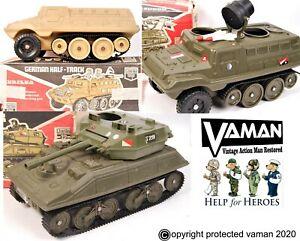 Cherilea Action Man Starlocks to fit Viper Tank / Halftrack / Hornet set of 10