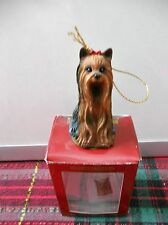 Collectors Series Limited Edition Yorkshire Terrier Ornament Last One