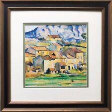"Paul Cezanne ""Hamlet at Payannet""  1885 Framed Art Print Masters Landscape"