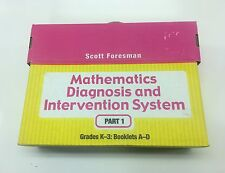 Scott Foresman Mathematic Diagnosis And Intervention System Part 1 K-3 Books A-D