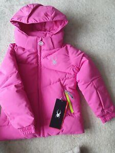 Girl's Spyder Ski Jacket 2-3 Years NWT pink