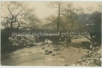 Sheffield, Rivelin Valley 1926 Real Photo Postcard, C037