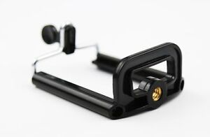 Stand Clip Bracket Holder Monopod Tripod Mount Adapter for Mobile phone Camera