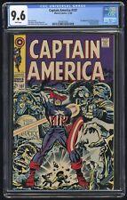 Captain America #107 CGC 9.6 (Marvel 11/68) 1st app Dr. Faustus, Jack Kirby cvr.