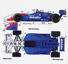 1/25 CART Valvoline decal /F1 Tamiya