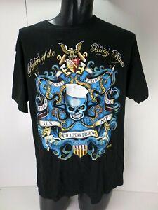 Mens T-Shirt 7.62 Design USA NAVY  Military Death before Dishoner  2008