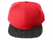"RETRO ""Cement"" Elephant Print Snapback Cap - One Size Fits All - Adjustable Hat"