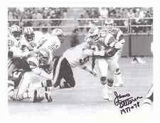"""James Betterson Autographed Philadelphia Eagles 8 1/2"""" x 11"""" Photo w/COA Cert."""