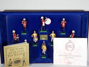 Britains Soldiers. King's Own Border Regiment. 10 Piece Set #5292. Ltd Edition.