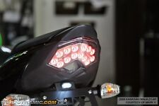 09-12 Kawasaki ZX-6R 08-10 ZX-10R 07-09 Z1000 INTEGRATED LED Tail Light CLEAR