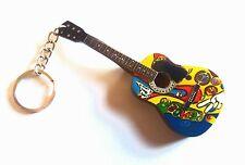"""Gibson Acoustic"" - Portachiavi chitarra - Guitar keychain - Guitarra Llavero"